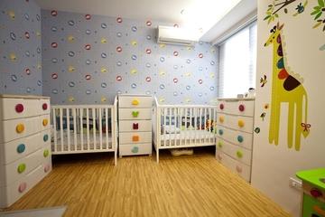 120平三室两厅住宅欣赏儿童房
