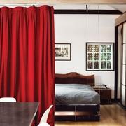54平北欧小阁楼设计欣赏卧室