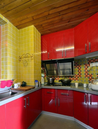 多彩异域混搭住宅欣赏厨房