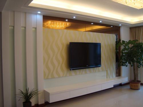 电视背景墙造型要选哪种风格比较时尚呢?首选肯定是欧式客厅电视背景墙造型