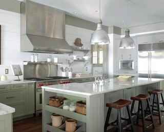 浪漫法式风情别墅欣赏厨房