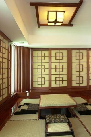 225平中式别墅欣赏茶室设计