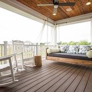 细节营造迷人现代别墅欣赏阳台