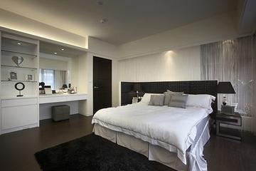 新古典设计住宅效果图卧室