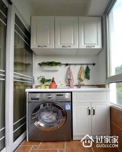 阳台改造洗衣房必须满足的3个条件