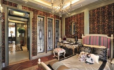 美式风格住宅设计套图梳妆台