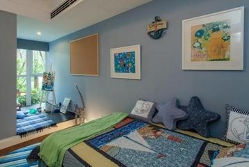 72平清新美式住宅欣赏卧室摆件