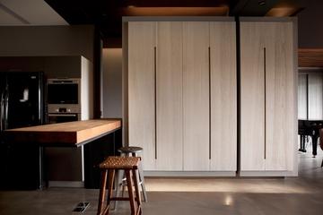 灰色现代品味住宅欣赏吧台设计