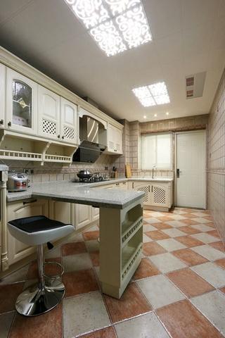 120平新古典大宅欣赏厨房陈设