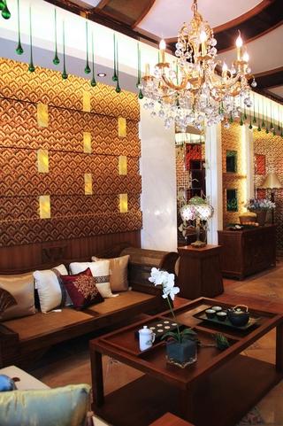 深情东南亚住宅欣赏客厅陈设