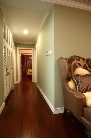 130平美式四室两厅欣赏过道