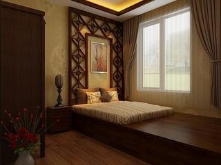 122平欧式奢华大宅欣赏卧室摆件