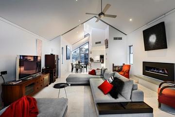 现代风格住宅欣赏客厅背景墙