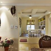 混搭客厅榻榻米装修效果图 不一样的家居
