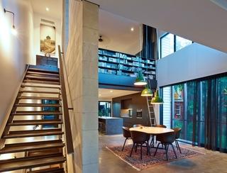 现代设计别墅书房