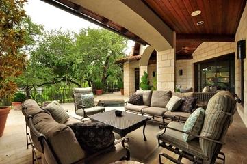 法式风格效果套图庭院设计
