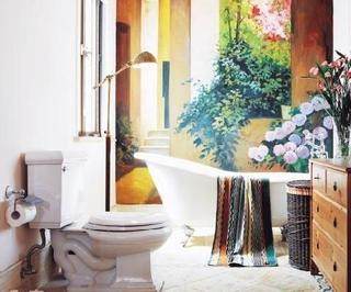 绚丽多彩东南亚住宅欣赏卫生间
