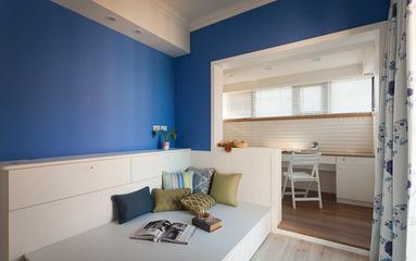 简约三居室案例住宅欣赏卧室吊顶
