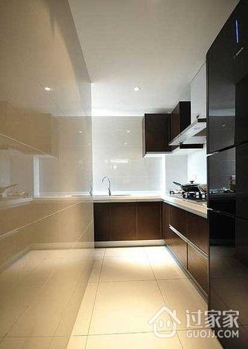 70平简约新房两居室欣赏厨房橱柜