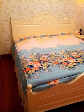 粉色田园公主屋欣赏卧室