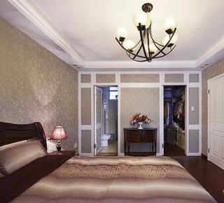 卧室灯饰装修效果图 尽情贵族气息