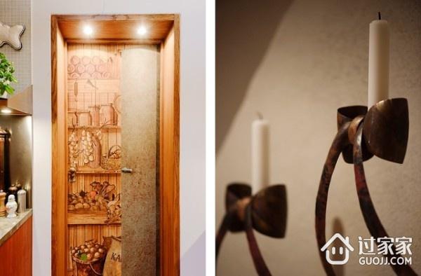 明亮阁楼设计欣赏室内门