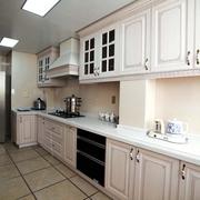 新古典风厨房白色橱柜