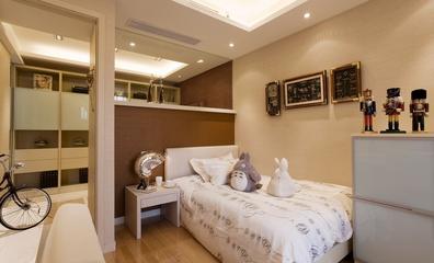 精致卧室隔断装修效果图 简单与纯净