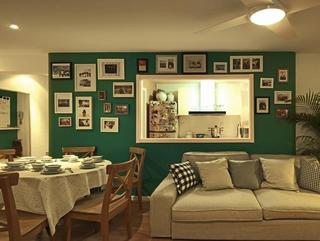 环保美式风住宅欣赏餐厅照片墙