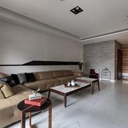 现代风格大空间设计欣赏客厅效果
