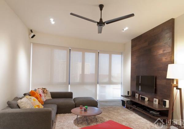 告别白墙的年代,走在时代的前列,现代客厅电视墙造型设计!