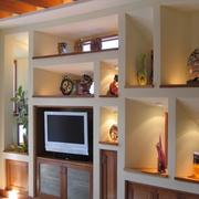简约风格效果别墅欣赏电视背景墙