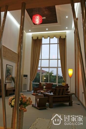 客厅窗帘窗户效果图