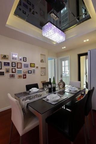 83平温馨现代三居室效果图