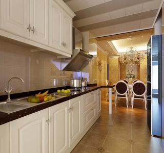 简欧风采三居室欣赏厨房橱柜