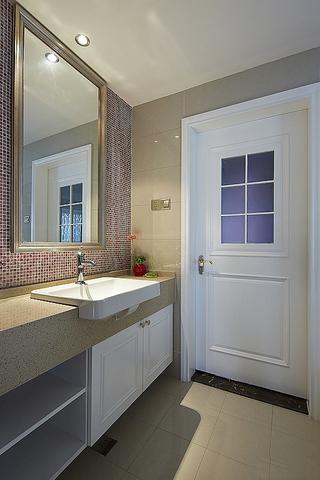 雅致新古典三居欣赏洗手间
