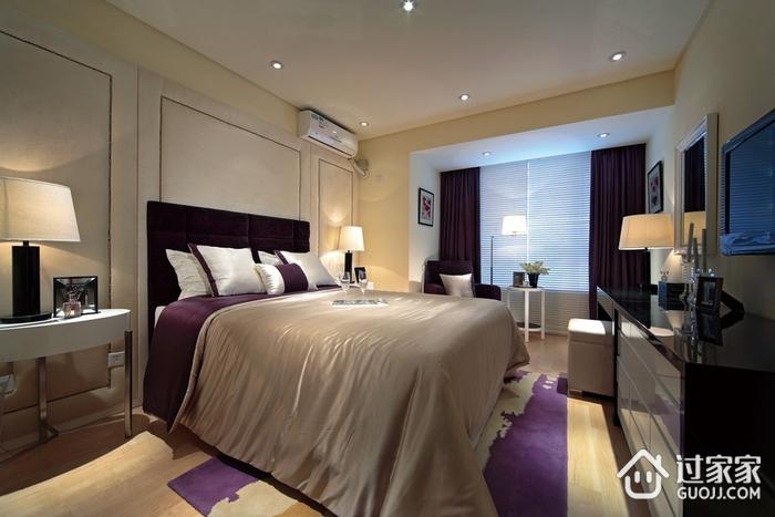 温馨现代卧室背景墙效果图 你喜欢吗