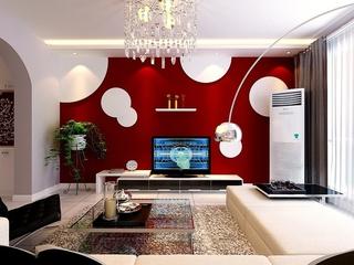 简约温馨效果图案例欣赏客厅设计