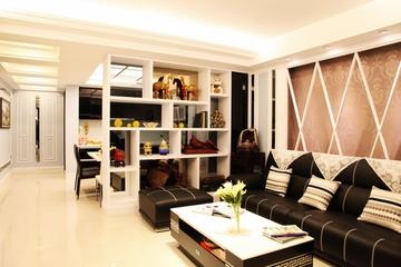新古典三居室设计欣赏客厅