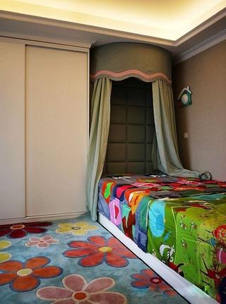 简欧风格三居室欣赏儿童房设计