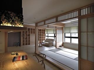 自然风雅日式住宅欣赏庭院