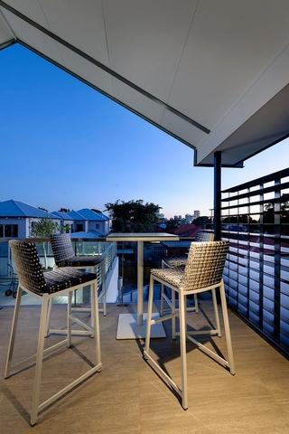 现代风格住宅欣赏阳台