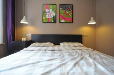 116平简约三室两厅欣赏卧室设计