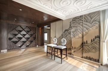 225平新古典别墅设计欣赏过道陈设