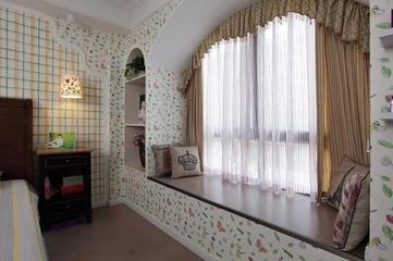 122平混搭时尚住宅欣赏卧室