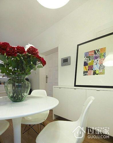 82平现代婚房两居室欣赏