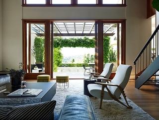 自然现代休闲别墅欣赏