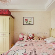 80后简约两居室欣赏卧室效果