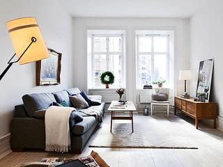 56平白色宜家公寓欣赏