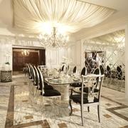 复试欧式风格设计宴客厅